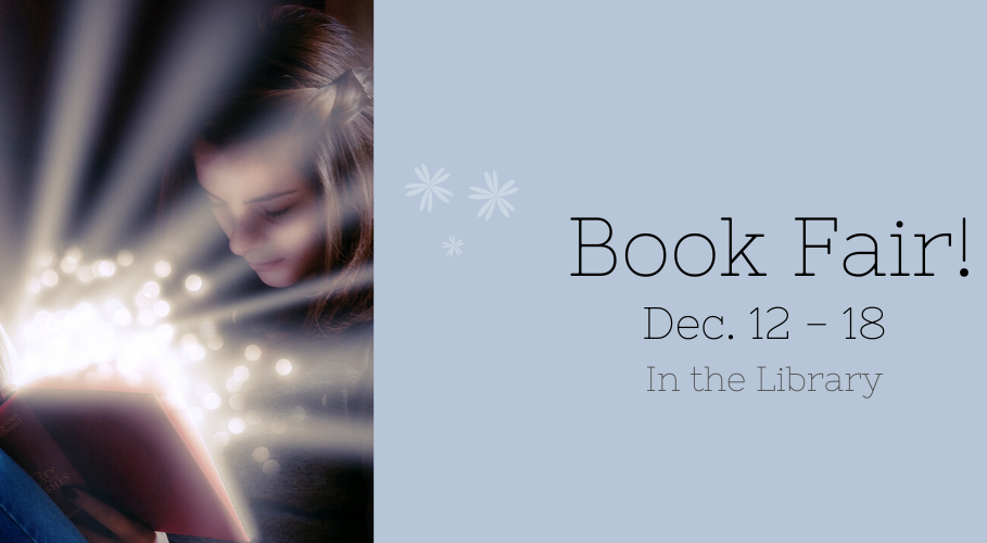 Book Fair – Dec. 12-18, 2019
