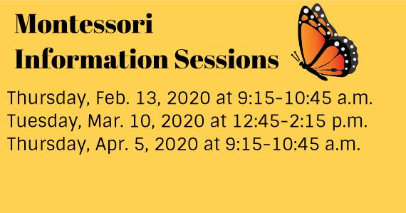 Montessori Information Sessions