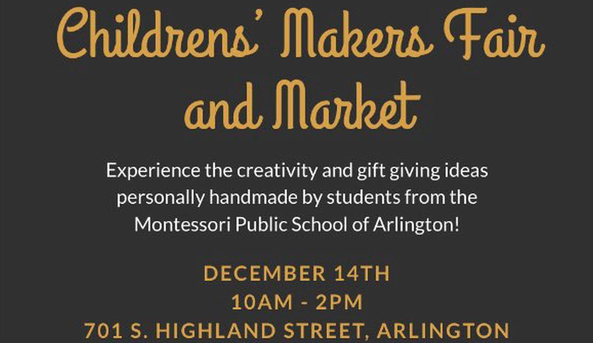 Maker's Fair – Dec. 14, 2019