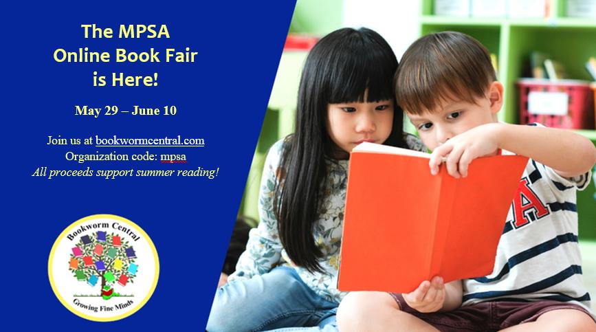 Spring Online Book Fair – May 29-June 10