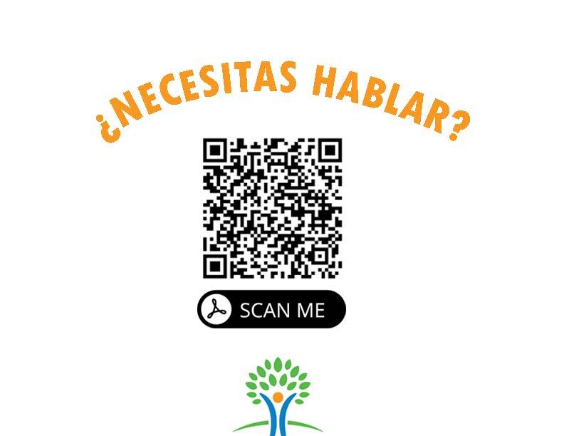 Need to talk? (spanish)